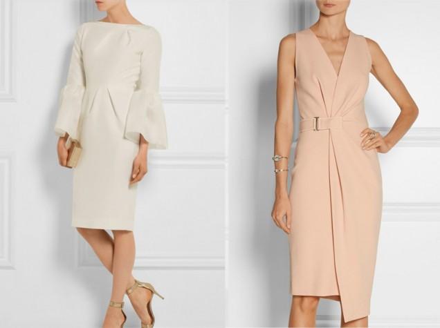 бежови и светли рокли 2019