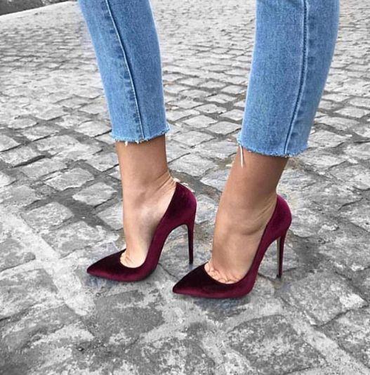 обувки на ток официални