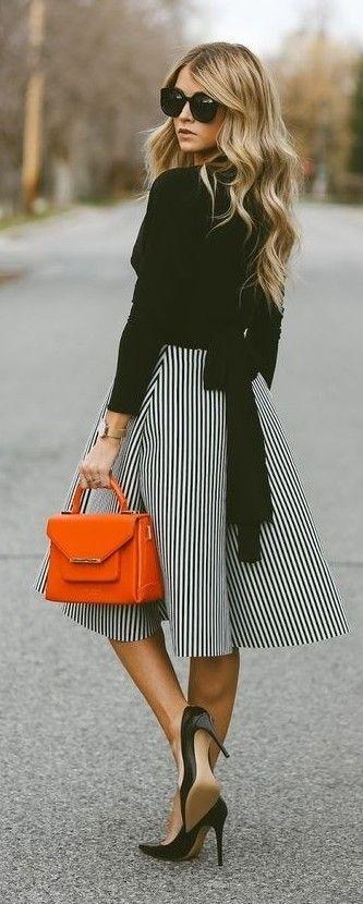 елегантна визия в пола