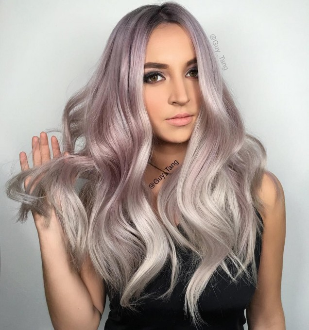 Пепеляво русо коса