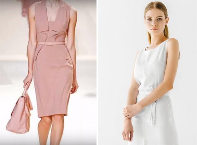 модни бизнес рокли