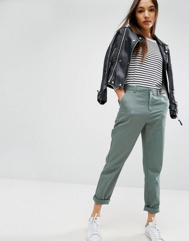 панталоните чинос мода