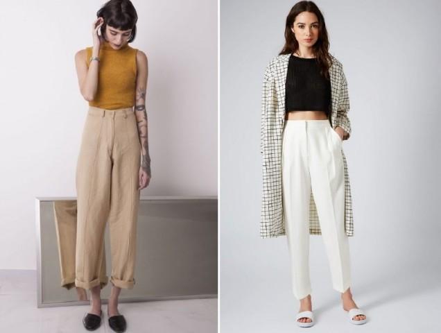 бели панталони 2019
