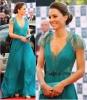 Кейт Мидълтън в морско зелено