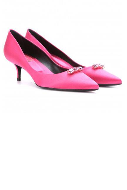 Обувки в розово