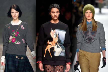 Модата на суитчърите зима 2013