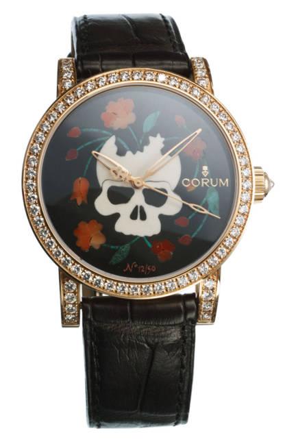 Часовник с череп