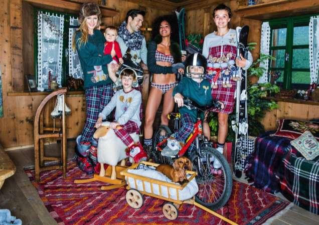 Забавна семейна Коледа с Undercolors of Benetton