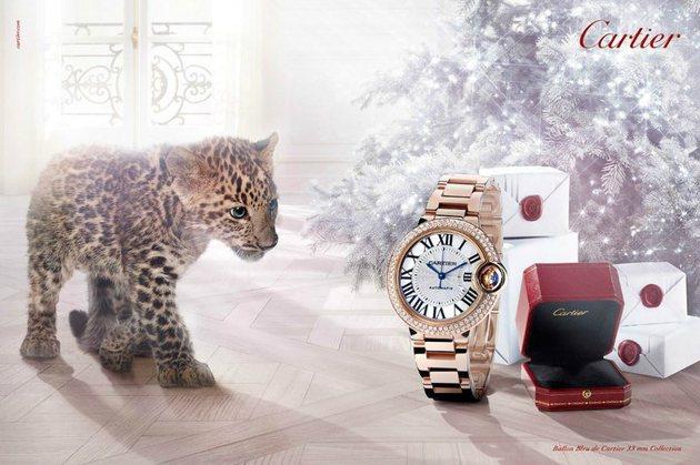 Прекрасен часовник Cartier