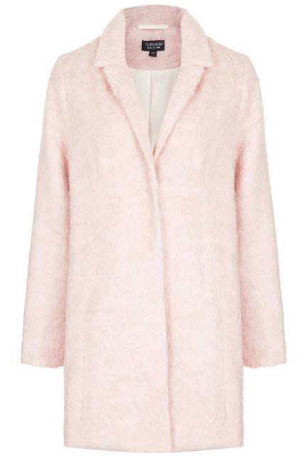 Нежно розово палто