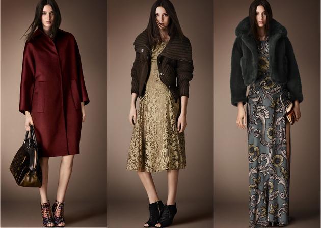 Burberry колекция есен 2014