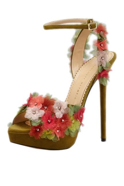 Цветни сандали