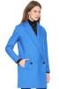 Палто в синьо