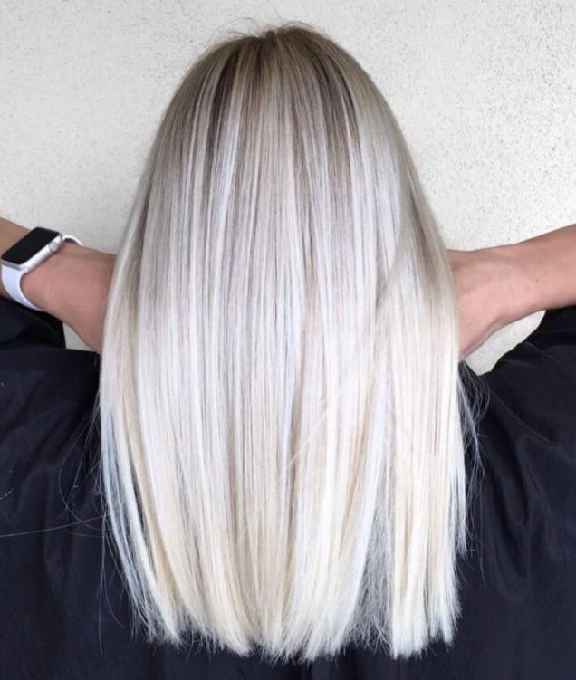 Права коса прически 2019