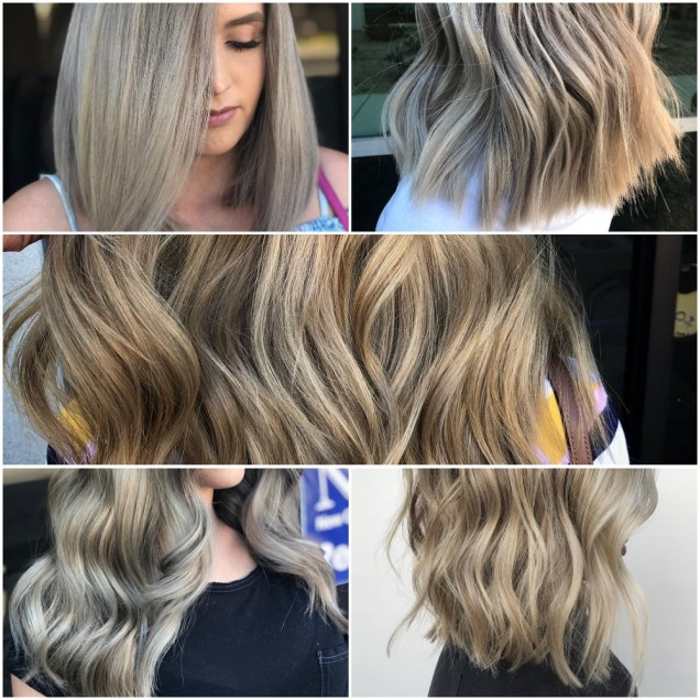 как се прави омбре на руса коса