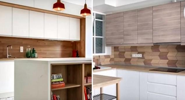 ламинат в кухнята
