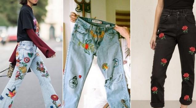 модни тенденции в дънките