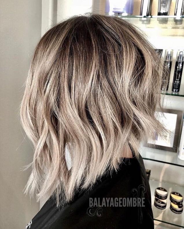 Балеаж за къса коса 2019