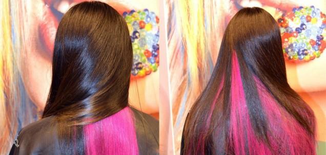 Двупластово боядисване на косата