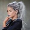 оловно сива коса