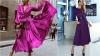 дълги сатенени рокли  2019