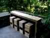бар със столчета за градината