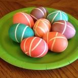 Боядесване на яйца на линии