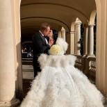 младоженците Цеци и Майкъл