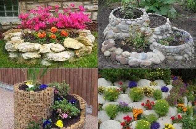 идеи за градина от камъни