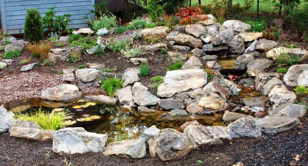 дизайн на каменна градина