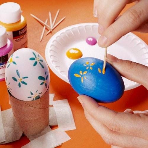 Боядисване на яйца с желатин
