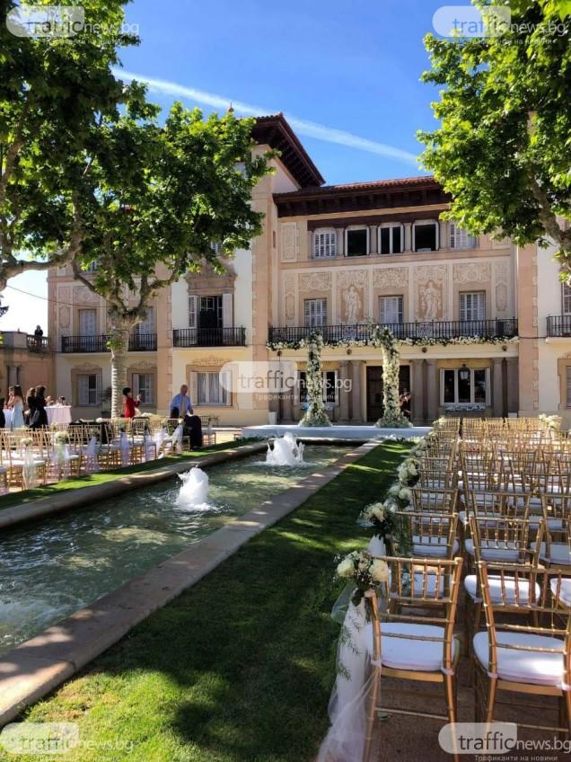 замъкът за сватбата на Цеци Красимирова