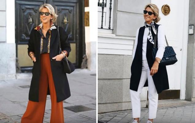 широки модерни панталони
