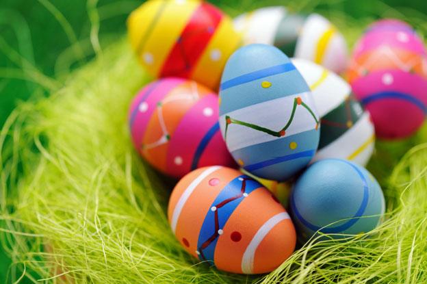 Боядисване на яйца с акрилни бои