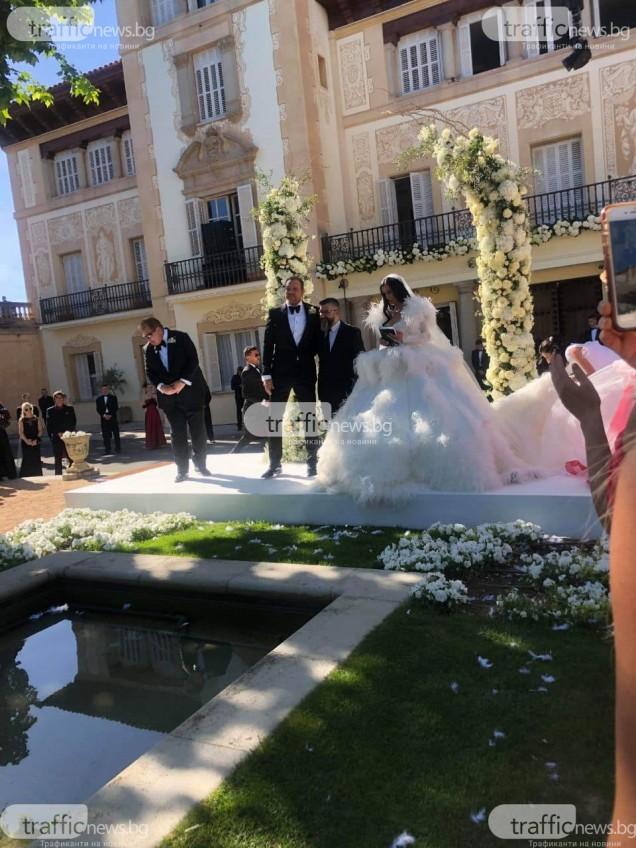 сватба в старинен замък