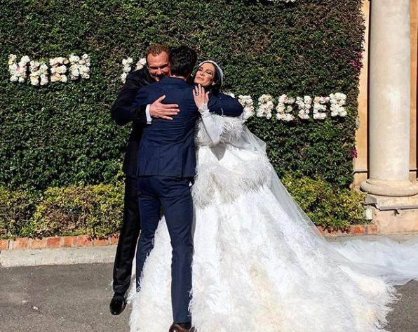 сватбата на Цеци и Майкъл