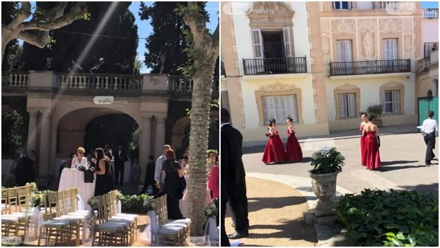 Цеци Красимирова се омъжи в замък