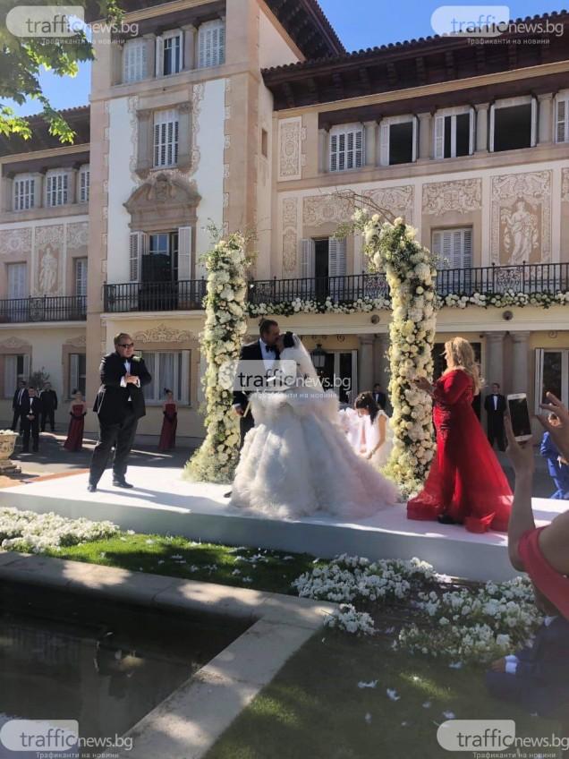 сватбеният ритуал на Цеци и Майкъл