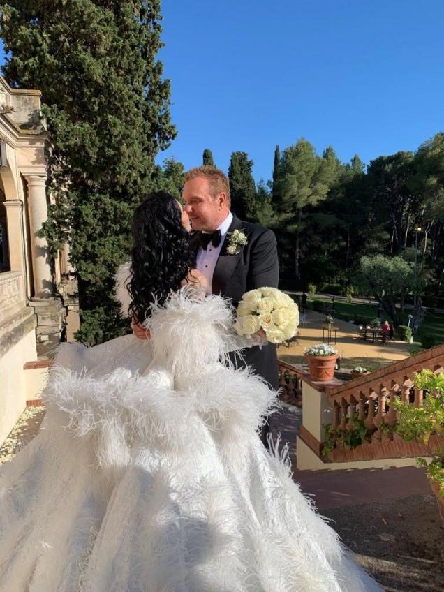 Сватбата на Цеци Красимирова