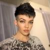 Пикси прическа за тъмна коса 2019
