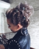 Прическа за вързана коса