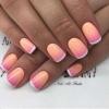 Не просто розово, а прасковено: нюансът, който рисува нежна феерия върху ноктите - 33 разкошни маникюра (Снимки):