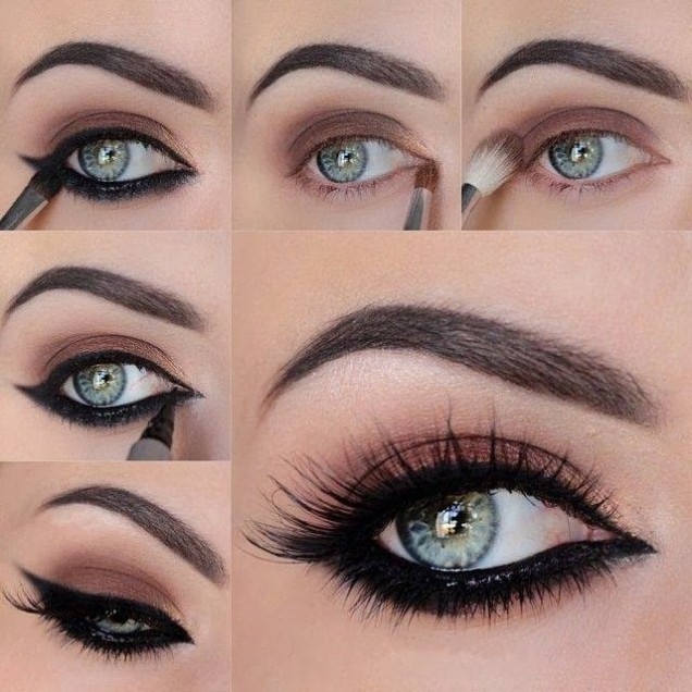 очна линия за кръгли очи