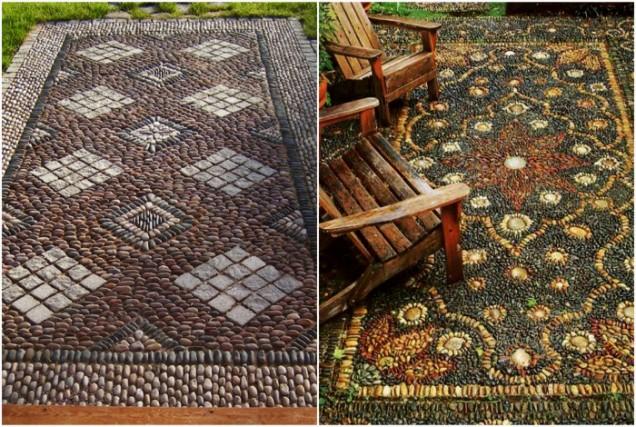 килимче от камъни