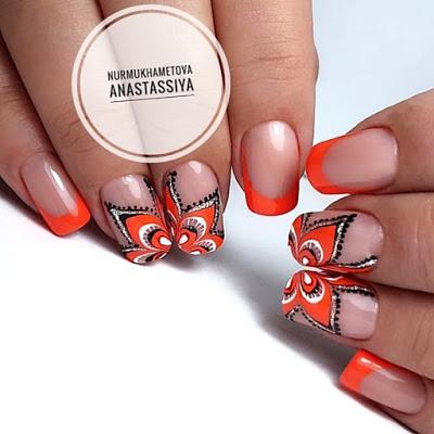 орнаменти върху ноктите