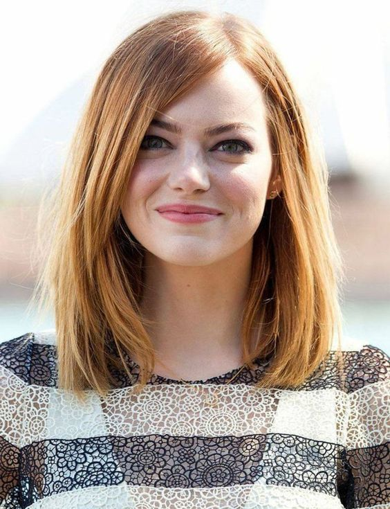 Прически средна дължина чуплива коса