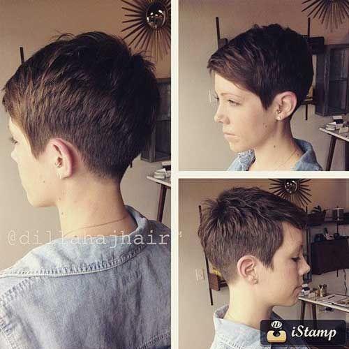 Прически ГАРСОН 2019 къса коса