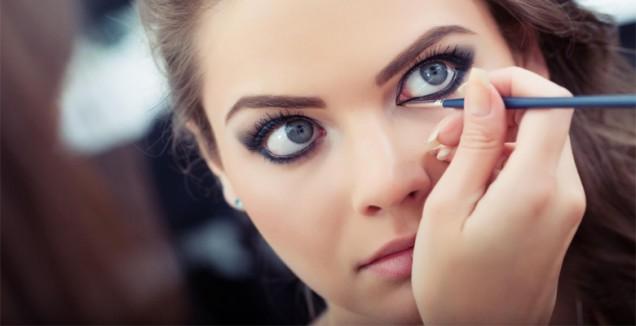 как се гримират кръгли очи