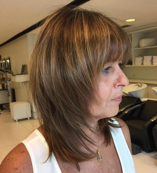 Прическа рапсодия за дълг коса