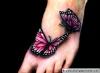 татуировка с пеперуда